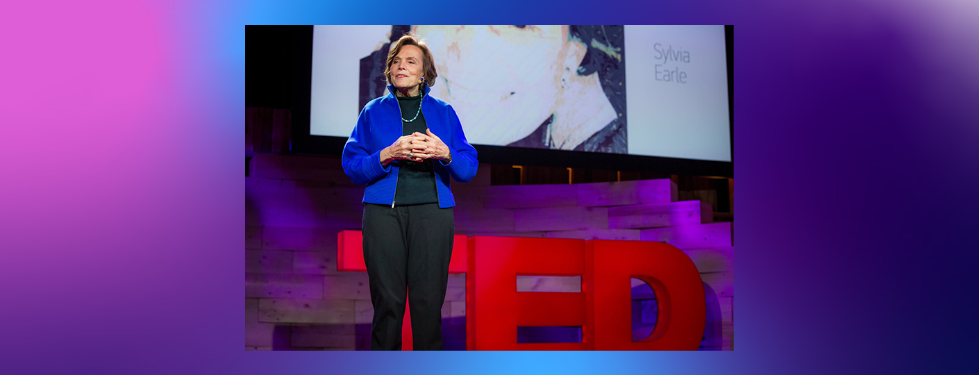 TED 30 all star stage Sylvia Earle